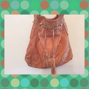 Handbags - Boho gypsy retro❣️soft leather hobo slouch bag👜